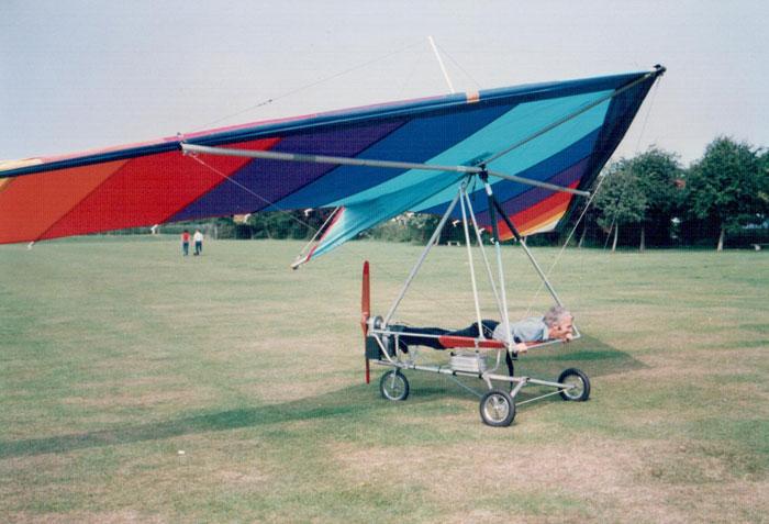 British Hang Gliding History  Powered Hang Gliding Photos